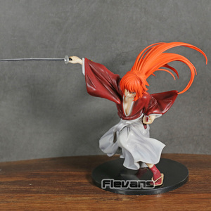 Image 3 - Samurai X Kenshin Himura Kenshin PVC Figur Spielzeug Sammler Figurine Modell
