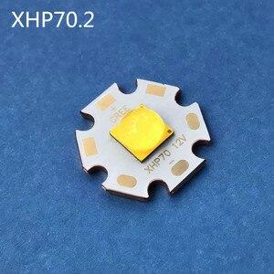 Image 3 - Cree XHP70.2 led 電球チューブ 30 ワット 4292LM 6V12V 懐中電灯 cree ダイオード led diy stronglight オートバイライト自転車ヘッドランプ led 電球