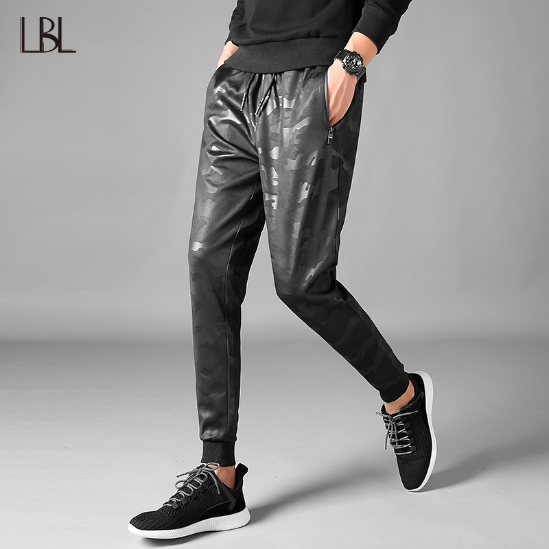 Hip Hop Casual Pants Spring Mens Sweatpants Males Fashion Long Jogger Brand Trousers Bottoms Male Camouflage Pattern For Men 3XL