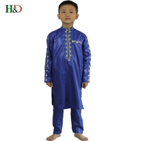 2017African New Fashion Boy Children S Clothing Design Style Africa Dashiki Style Cotton Bazin Materials TZ2804