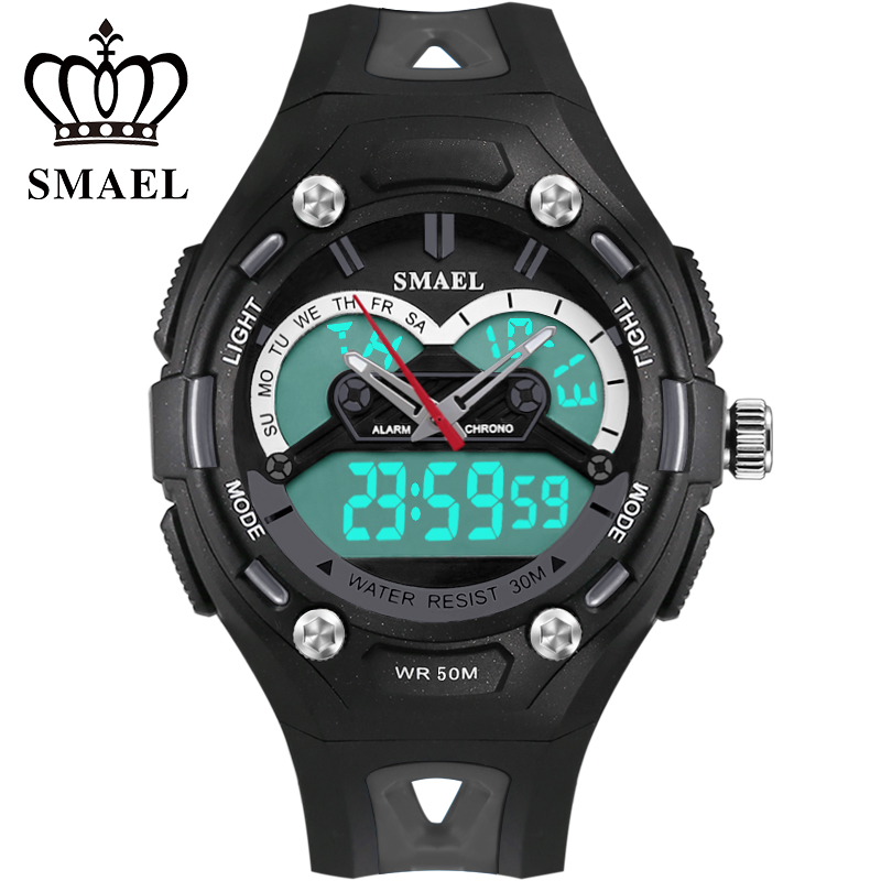 New Spuer Cool Child popular By Boys And Girls LED Dual Display Special Fantastic Outdoor Watch