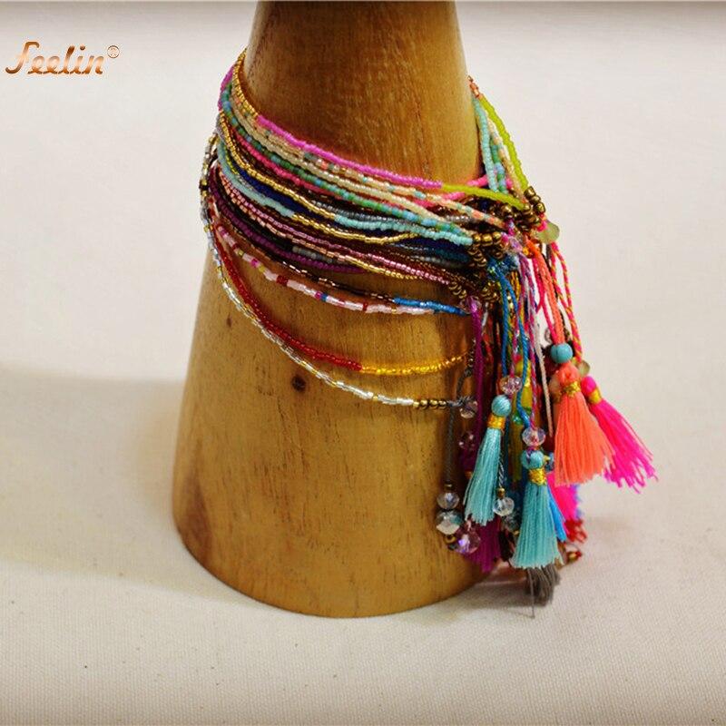2017 Summer Handmade Tel Colourful Women Seed Beads Friendship Bracelet Fashion Tels Beach Bohemian Bracelets For In Charm From