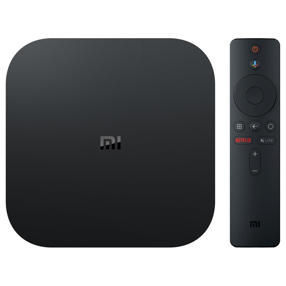 [Version globale] Xiao mi mi Tv Box S Android 8.1 4K QuadCore Smart TV Box 2GB 8GB 2.4G 5.8G WiFi BT4.2 Mali450 1000Mbp VS mi BOX 3 - 2