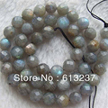 Beautiful labradorite natural stone 6mm 8mm 10mm 12mm hot sale jasper Faceted Round Beads diy Jewelry making 15 inch G635