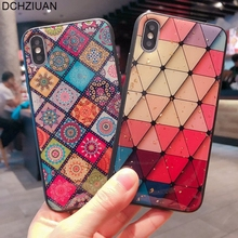 DCHZIUAN For Samsung Galaxy S8 S9 Plus NOTE 9 Note 8 Case Bling Pattern Phone Cases For iPhone 7 6 6s 8 Plus XS Max XR X Case samsung galaxy note 8 получит кодовое имя байкал с нового iphone слезает краска