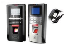 U Disk Download biometric time recording device fingerprint time attendance clock support finger / ID card /password