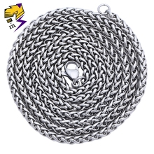 Hiphop Stainless Steel Chains Necklaces Male 70cm Long Chain Gold Silver Color 4 Style Women Pendant Accessories Jewelry