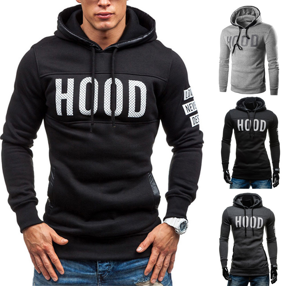 HTB1VWJSavfsK1RjSszbq6AqBXXad New Men Hoodies Hooded Long Sleeve Coat Sweatshirts Letters Printed Tracksuit Pullovers Homme Tops Man hoodies sudadera hombre