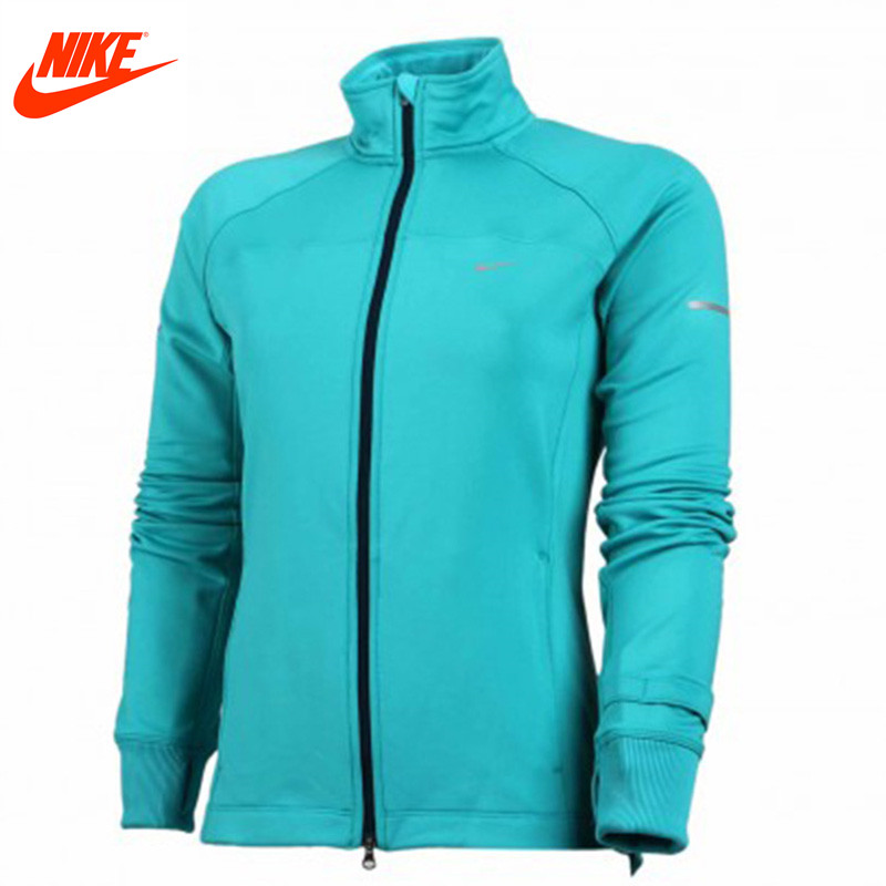 Nike women leisure collar training windbreaker <font><b>jacket</b></font> 547387-388