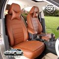 Personalize assento de carro cobre para brilliance v5 acessórios de couro 4 estações lifan x60 620 jac s5 PU respirável soco auto cc golfe
