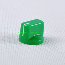 все цены на 10pcs Colorful Green Rotary Volume Control Plastic Potentiometer Knob Knurled Shaft Hole онлайн