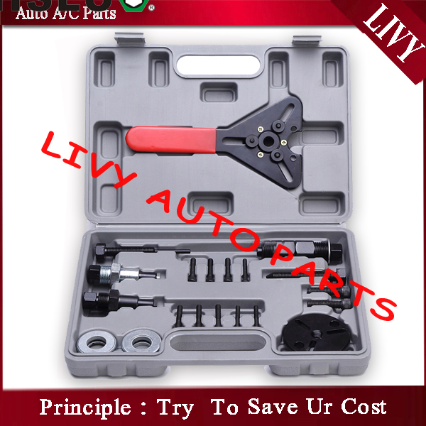 цены на Repair air conditioner compressor tool car repair tool set compressor clutch removal tool