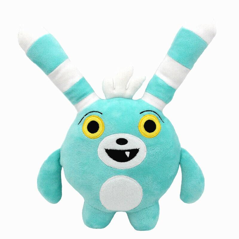 30cm Anime Abby Hatcher Bozzly Bunny Plush Figure Toy Cute Blue Rabbit Stuffed Doll | Dolls & Stuffed Toys