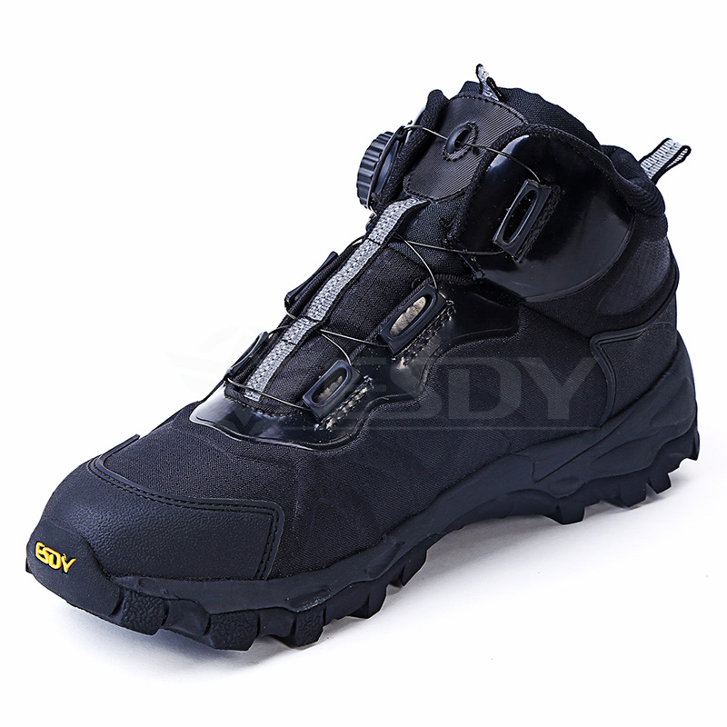 ESDY Outdoor men's tactical shoes climbing hiking fishing breathable sport wear Utility Men's Flint Steel Toe  Shoe аксессуары для косплея from the nou camp to the bernabeu cos