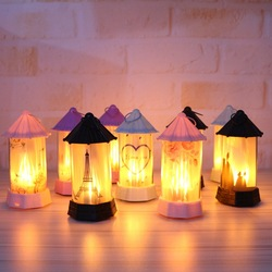 2019 Nieuwe LED Simulatie Vlam Licht Night Interieur Decoratie Party Lamp Halloween Geschenken Kerst Kamer Constellation lamp