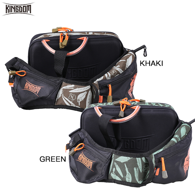 Kingdom 2019 New Waterproof Fishing Bag Large Capacity Multifunctional Fishing Lure Box Tackle Backpack Outdoor Shoulder Bags 4