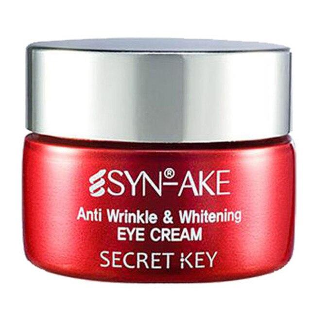 Секретный Ключ Syn Ake Против Морщин и Отбеливание Крем Для Глаз 15 г корея косметика уход за глазами