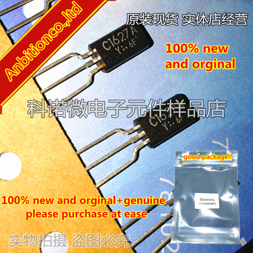 10pcs 100% New And Orginal 2SC1627A-Y C1627 2SC1627 TO-92L In Stock