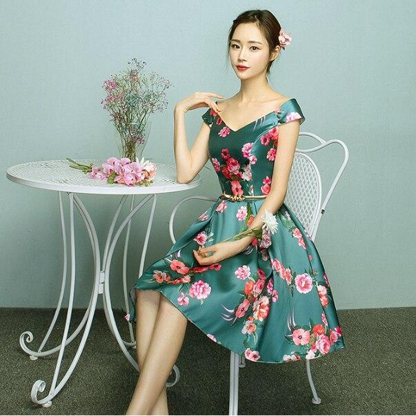 30c3a1b14f Lindo sweet 16 corto verde cuello en v puffy vestido de fiesta formal de  satén vestidos de fiesta adolescente para chicas increíbles vestidos de  bola X4032 ...