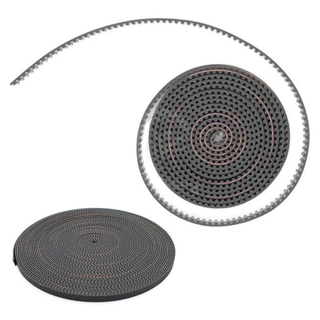 Mayitr 1pc 2M 6mm Width GT2 Open Timing Belt RF Fiber Glass Reinforced Rubber Timing Belts for 3D Printer Parts