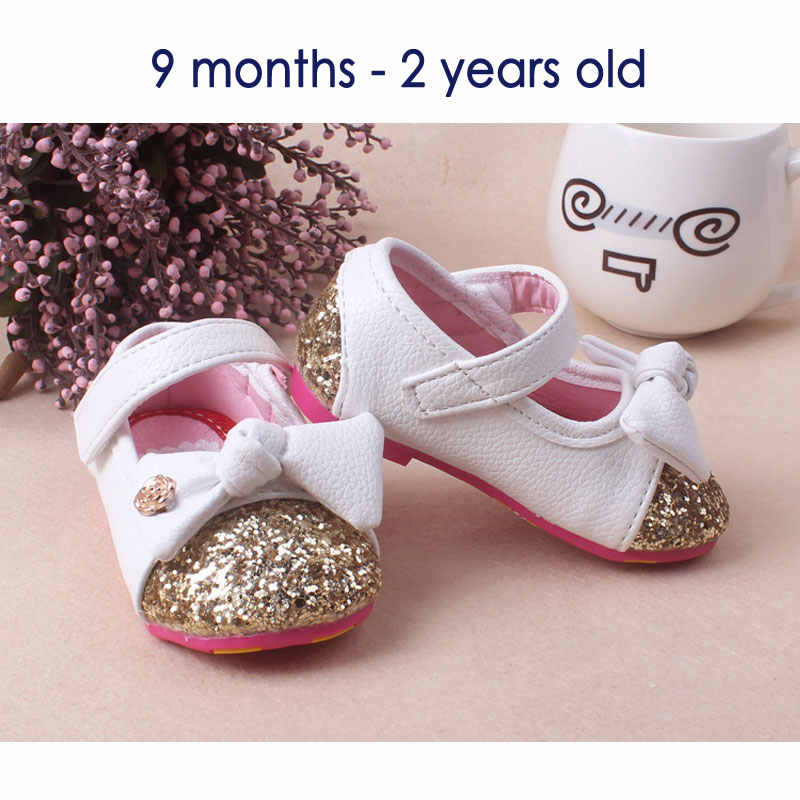 b88f438454 Baby Girls leather shoes Princess butterfly-knot soft Toddlers Kids casual  Shoe Summer Cute Girl Shoes Kids Toddler Sandals