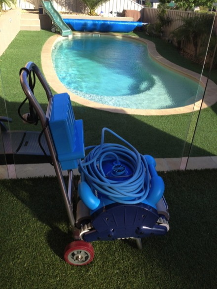 Robotic Swimming Pool Cleaner Smart Cleaning Robot Wall