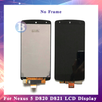 4.95'' For LG Google Nexus 5 D820 D821 LCD Display Screen With Touch Screen Digitizer Assembly High Quality