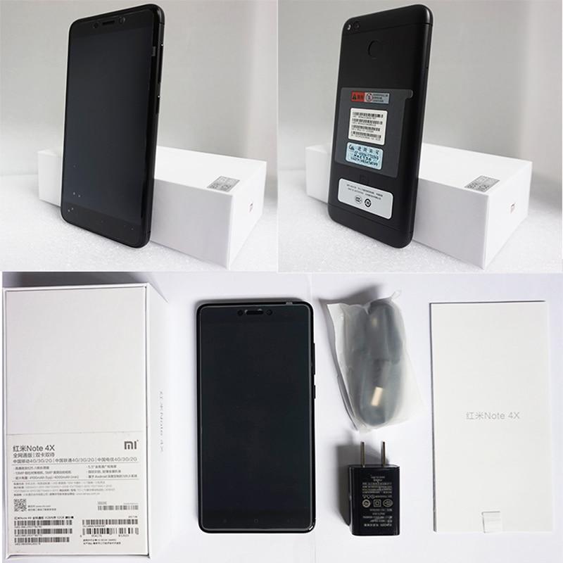 Original Xiaomi Redmi Note 4X 4 X Smartphone Snapdragon 625 Octa Core 5.5