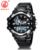 Banda de Plástico Reloj De OHSEN Hombres Deportes LED Digital Relojes de pulsera de Cuarzo Militar Relojes Relojes A Prueba de Agua Relogio masculino AS09