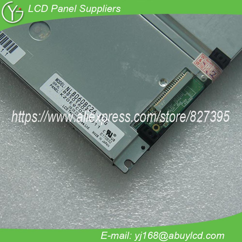 New 10.4inch Industrial Lcd Panel NL8060BC26-30G