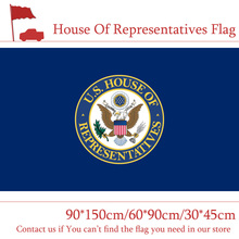 Free shipping The House Of Representatives Flag 30*45cm Car 90*150cm 60*90cm 3x5ft Speaker Polyester Printed Banner