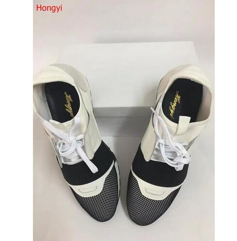 Hongyi Real Pictures Fashion Trainers breathable Women Casual Shoes Air Mesh Flat With Shoes Woman Tenis Feminino Zapatos Mujer ceyue fashion brand women shoes breathable air mesh trainers 2017 spring autumn casual shoes woman walking flats tenis feminino