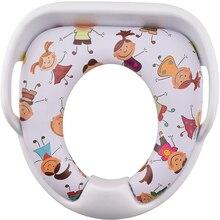 2016 new design beautiful design soft children toilet seat cover
