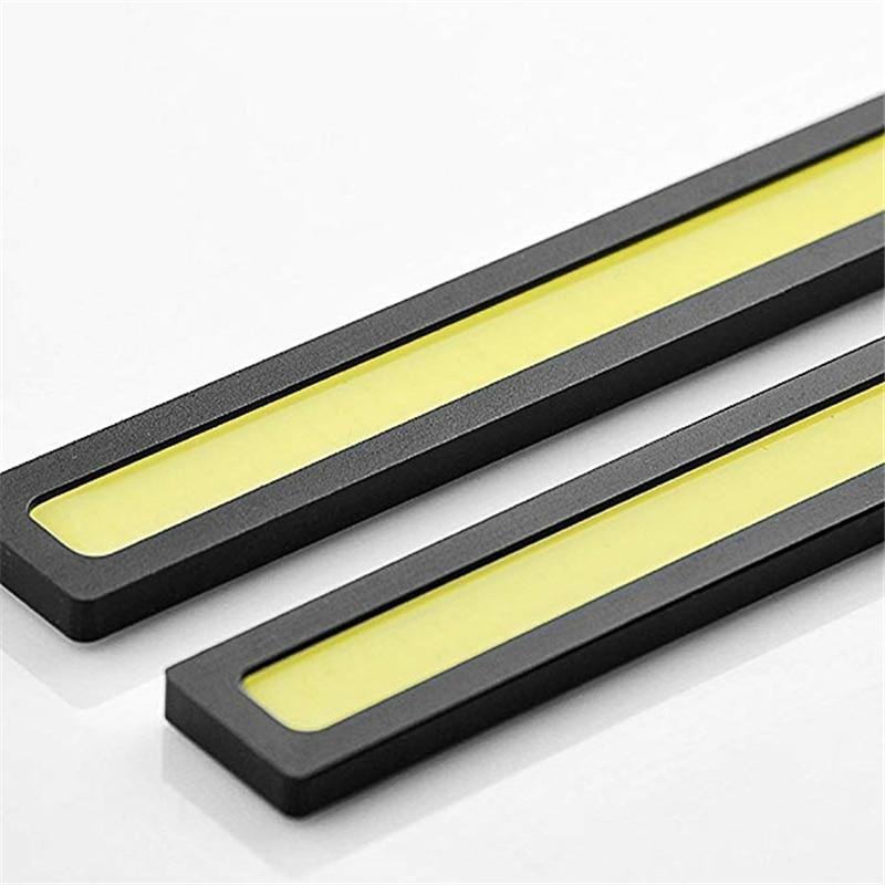 2pcs New 17cm LED COB Daytime Running Light Waterproof DC12V Car Light Source Parking Fog Bar Lamp S10