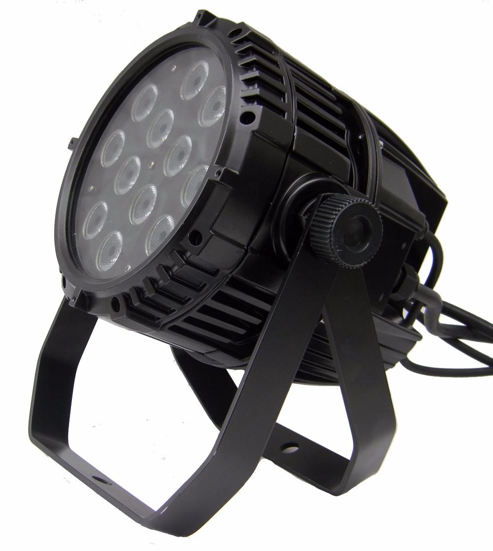 Rasha High Quality IP65 Waterproof 4in1 12pcs*10W 4in1 RGBW/RGBA LED Par Light,Outdoor LED Par Light for Studio Party Event