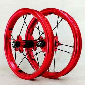 12inch push bike wheels kids bicycle boby bikes wheel Slide car children\'s wheel custom balance bike wheel Anodic color Children