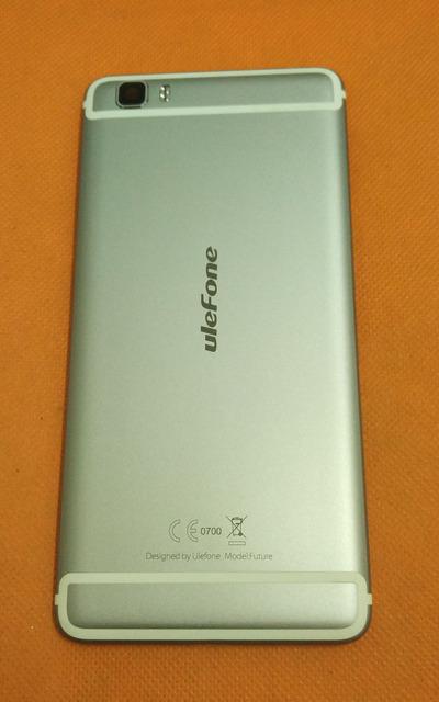"""Usado Original Caso Capa Protetora Da Bateria + vidro da câmera para Futuro MTK6755 Ulefone Octa Core 5.5 """"FHD 1920x1080 Frete Grátis"""