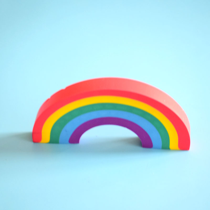 Rainbow Eraser Kawaii Rubber For Student Kid Novelty Pencil Eraser Gift Stationery School Office Supplies