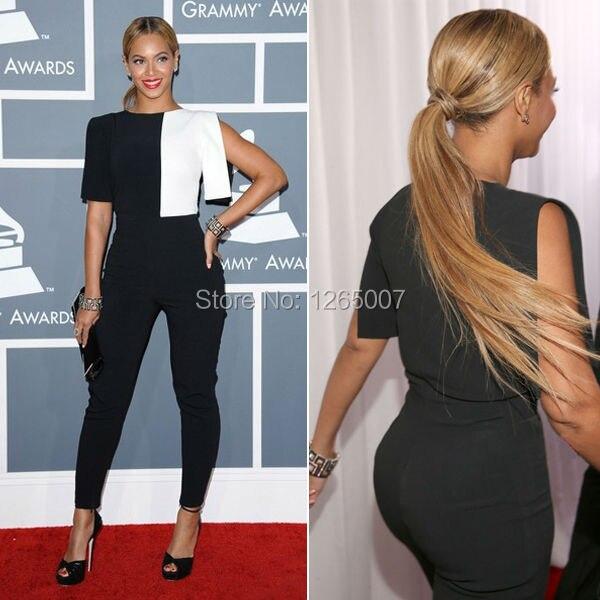 Beyonce Grammy Awards Knowles Einzigartige zweifarbige Weiß und ...
