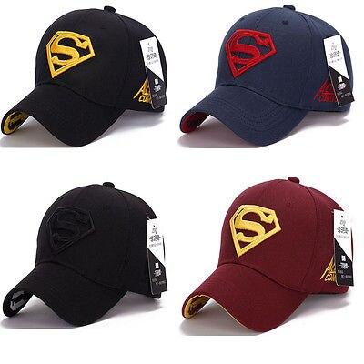 Gorra Superman camionero de béisbol nueva moda superhéroe DC Comics Golf  ajustable sombreros deportivos en Gorras de béisbol de Deportes y ocio en  ... 61bbd80dc75