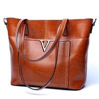 Luxury handbags women bags designer 2018 leather handbags fashion large capacity European and American shopping bags ladies bag