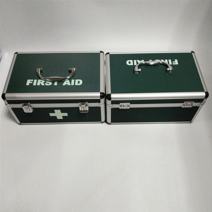 Family outdoor emergency check up box Office accident emergency first aid kit