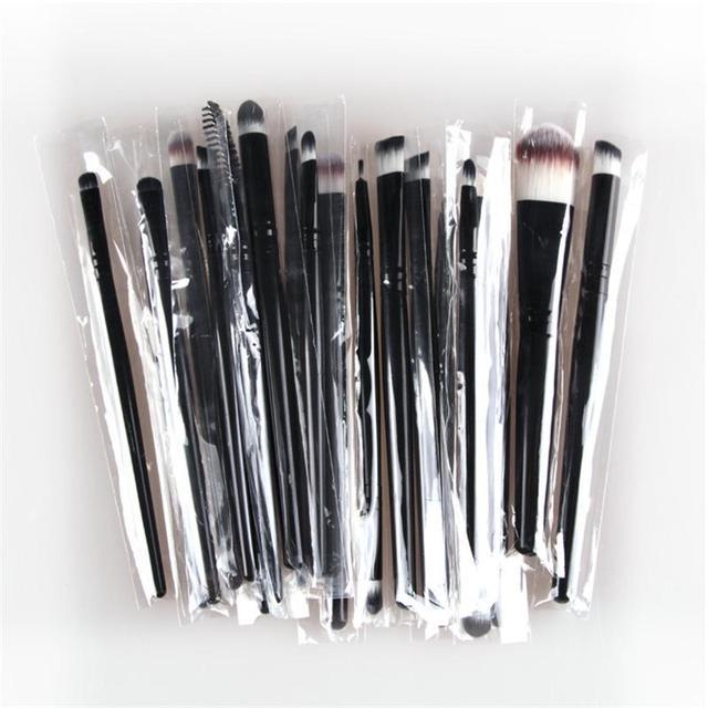 20pcs Makeup Brushes Varius Colors
