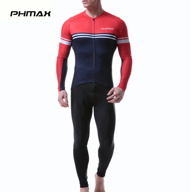 PHMAX 2019 Long Sleeve Cycling Jersey Set Spring MTB Bicycle Clothes Ropa Maillot Ciclismo Racing Bike Wear Clothing Cycling SetPHMAX 2019 Long Sleeve Cycling Jersey Set Spring MTB Bicycle Clothes Ropa Maillot Ciclismo Racing Bike Wear Clothing Cycling Set