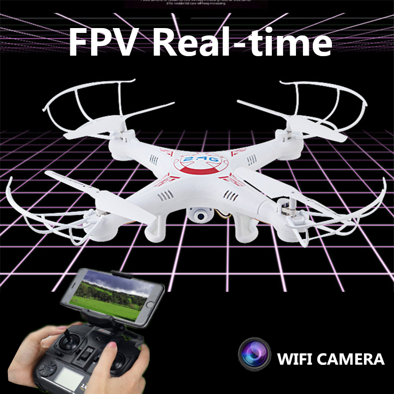 Hot Wifi font b RC b font Drone Flying Camera Drones With FPV Camera HD Quadcopters