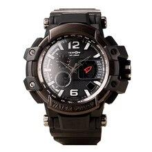 Dial grande 2016 Marca EXPONI Ejército Militar Reloj de Los Hombres Fecha de Calendario Resistente Al Agua Reloj Digital LED Relojes Deportivos Hombres
