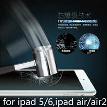 Фотография New ULTRA CLEAR Tempered Glass Screen Protector Film Guard With Retail Package For pad5 ipad 5  Ipad Air