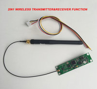 Hot 2 4G Wireless Receiver PCB Modules Board With Antenna LED Controller Transmitter Receiver For Battery