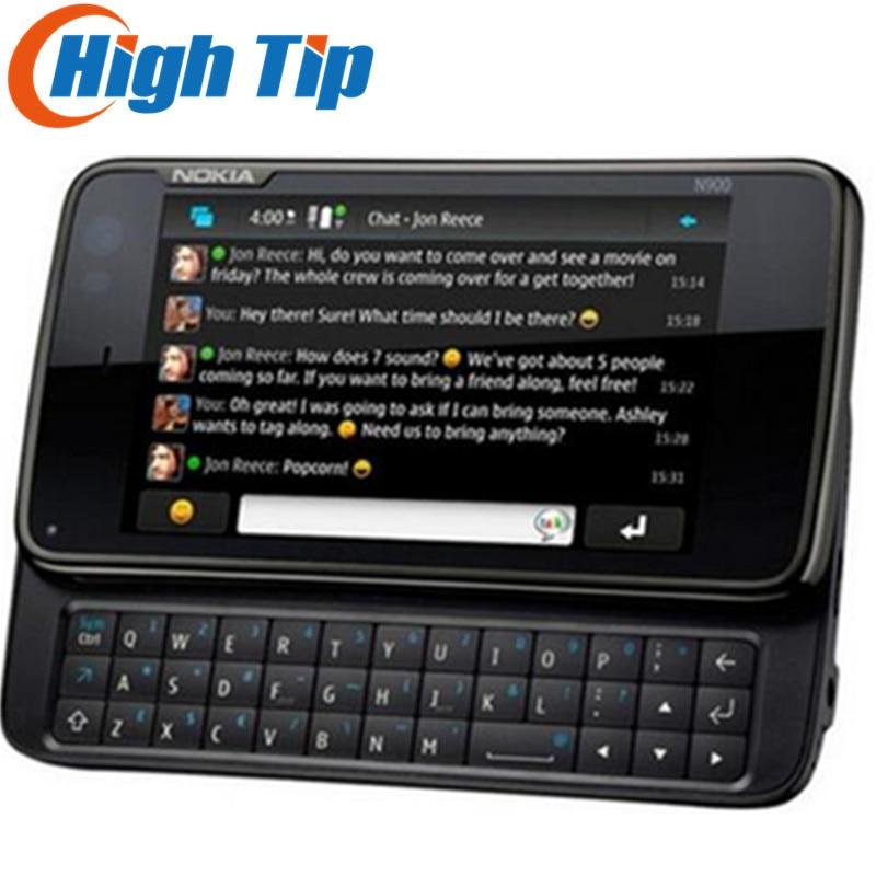 Фото. Nokia N900 оригинальный разблокированый телефон Поддержка QWERTY русской клавиатуры GSM 3g gps WI-FI
