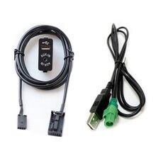 Biurlink USB/AUX-IN переключатель панель аудио кабель-адаптер для BMW Z4 E83 E85 E86 X3 X5 для MINI COOPER